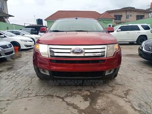 Ford Edge 2008 SE 4dr FWD (3.5L 6cyl 6A) Red | Cars for sale in Lagos State, Ifako-Ijaiye
