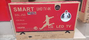 Lg 55 Inches Smart 4k Tv | TV & DVD Equipment for sale in Lagos State, Mushin