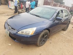 Honda Accord 2005 Sedan LX Automatic Blue | Cars for sale in Lagos State, Ikeja
