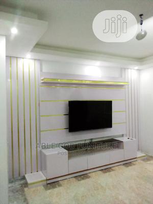 White Tv Stand   Furniture for sale in Edo State, Benin City