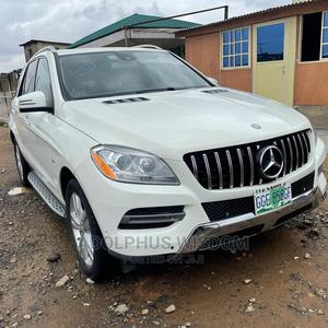 Mercedes-Benz M Class 2014 White   Cars for sale in Lagos State, Orile