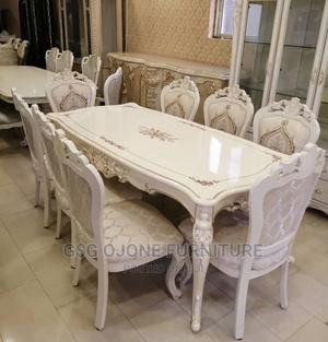 Wooden Royal Dining Table With Chairs   Furniture for sale in Lagos State, Ikeja