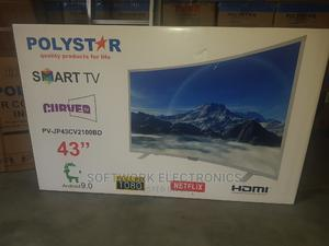 Polystar 43 Inches Smart Curved Tv   TV & DVD Equipment for sale in Lagos State, Yaba