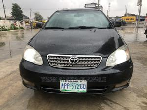 Toyota Corolla 2006 Black   Cars for sale in Lagos State, Ogba