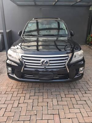 Lexus LX 2012 570 Black   Cars for sale in Lagos State, Lekki