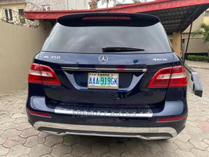 Mercedes-Benz M Class 2015 Blue   Cars for sale in Lagos State, Ikeja