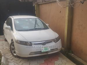Honda Civic 2008 1.8i VTEC Automatic White | Cars for sale in Lagos State, Alimosho