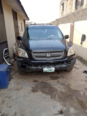 Honda Pilot 2003 LX 4x4 (3.5L 6cyl 5A) Black | Cars for sale in Lagos State, Ogba