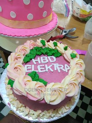 5k Plain Vanilla Cakes | Meals & Drinks for sale in Lagos State, Ikorodu