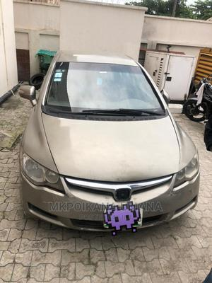 Honda Civic 2006 1.8 Sport Automatic Beige   Cars for sale in Lagos State, Lekki