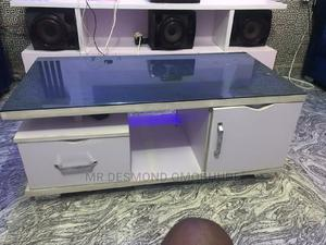 Centre Table With Glass   Furniture for sale in Edo State, Benin City