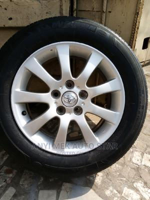 Alloy Rim 16 and Tyre Tukunbo for Carmy and Es 330 Lexus | Vehicle Parts & Accessories for sale in Lagos State, Mushin