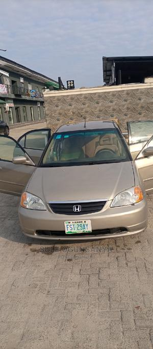 Honda Civic 2003 Coupe Automatic Gold   Cars for sale in Lagos State, Ajah