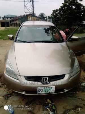 Honda Accord 2004 Sedan EX Gold   Cars for sale in Akwa Ibom State, Uyo