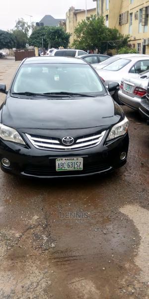 Toyota Corolla 2010 Black   Cars for sale in Abuja (FCT) State, Garki 1