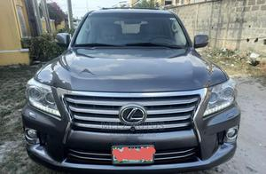 Lexus LX 2013 570 AWD Gray   Cars for sale in Lagos State, Ikeja