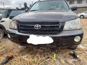 Toyota Highlander 2003 Limited V6 AWD Black | Cars for sale in Lagos State, Ikeja
