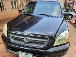 Honda Pilot 2003 EX-L 4x4 (3.5L 6cyl 5A) Black | Cars for sale in Osun State, Ilesa