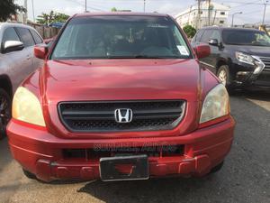 Honda Pilot 2003 Red | Cars for sale in Lagos State, Ikeja