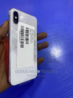 Apple iPhone X 64 GB Silver   Mobile Phones for sale in Abuja (FCT) State, Wuse 2