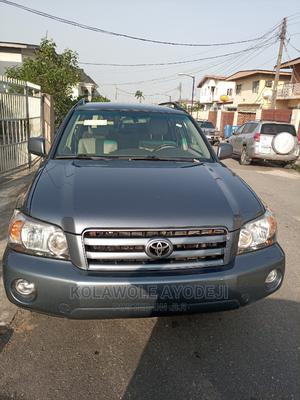 Toyota Highlander 2007 V6 4x4 Gray | Cars for sale in Lagos State, Maryland