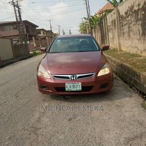 Honda Accord 2007 Red   Cars for sale in Lagos State, Maryland