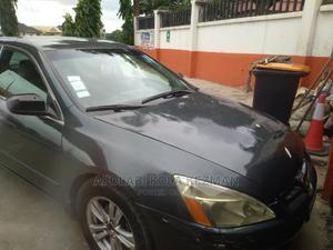 Honda Accord 2005 Sedan EX Automatic Gray   Cars for sale in Lagos State, Alimosho