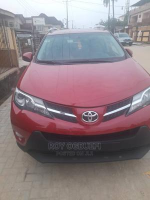 Toyota RAV4 2013 XLE AWD (2.5L 4cyl 6A) Red | Cars for sale in Lagos State, Oshodi