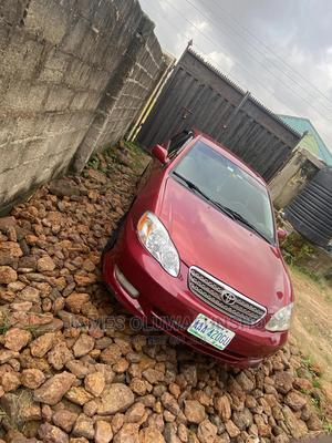 Toyota Corolla 2004 Red   Cars for sale in Ogun State, Obafemi-Owode