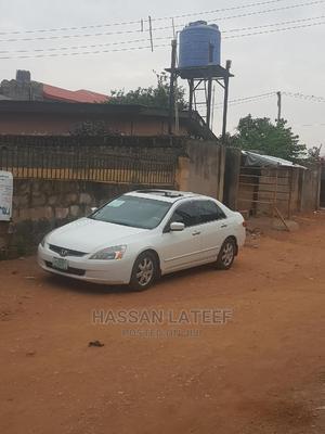 Honda Accord 2005 Automatic White   Cars for sale in Lagos State, Ifako-Ijaiye