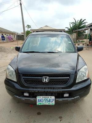 Honda Pilot 2004 EX 4x4 (3.5L 6cyl 5A) Black   Cars for sale in Lagos State, Ikorodu