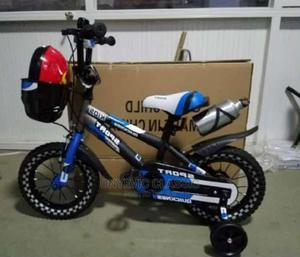 Sport Bicycle With Training Wheel   Toys for sale in Lagos State, Apapa