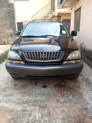 Lexus RX 2000 300 2WD Black | Cars for sale in Lagos State, Ogba