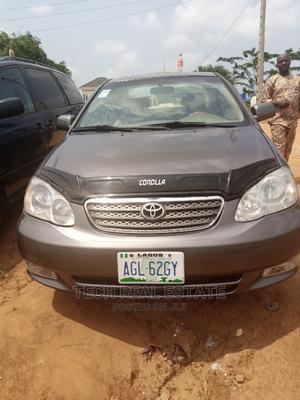 Toyota Corolla 2003 Sedan Gray | Cars for sale in Lagos State, Ikorodu