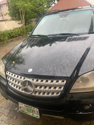 Mercedes-Benz M Class 2008 ML 350 4Matic Black   Cars for sale in Lagos State, Amuwo-Odofin