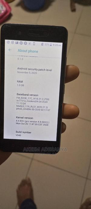 Itel A16 Plus 8 GB Gold | Mobile Phones for sale in Lagos State, Yaba