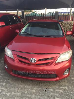 Toyota Corolla 2013 L 4-Speed Automatic Red   Cars for sale in Lagos State, Ajah