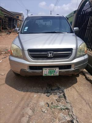 Honda Pilot 2004 EX 4x4 (3.5L 6cyl 5A) Silver | Cars for sale in Lagos State, Egbe Idimu