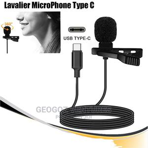 Type-C Tie Clip Lavalier Microphone   Audio & Music Equipment for sale in Lagos State, Ikeja