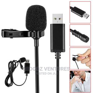 USB Tie Clip Lavalier Microphone   Audio & Music Equipment for sale in Lagos State, Ikeja