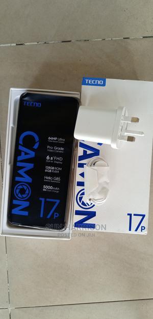 New Tecno Camon 17P 128 GB Black | Mobile Phones for sale in Delta State, Ugheli
