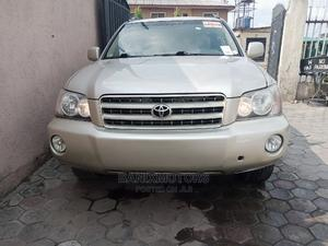 Toyota Highlander 2003 Gold | Cars for sale in Lagos State, Ikeja