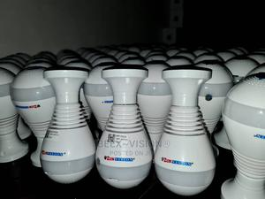 Wifi Bulb Camera Panoramic 360° SPY | Security & Surveillance for sale in Lagos State, Ikeja