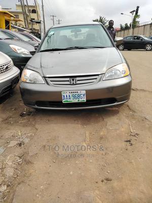 Honda Civic 2002 Gray   Cars for sale in Lagos State, Ikeja