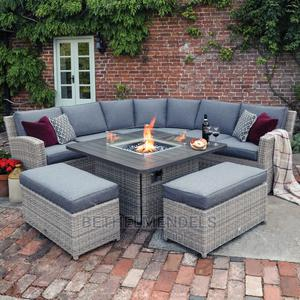9 Set of Outdoor Rattan Chair and Tables | Furniture for sale in Lagos State, Ikeja