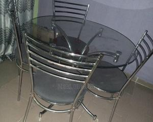 A Glass Dinning Table   Furniture for sale in Akwa Ibom State, Uyo