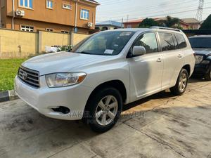 Toyota Highlander 2009 Sport White | Cars for sale in Lagos State, Magodo