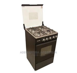 Scanfrost 4 Burner Standing Gas Cooker With Oven- SFC5402B | Kitchen Appliances for sale in Lagos State, Yaba