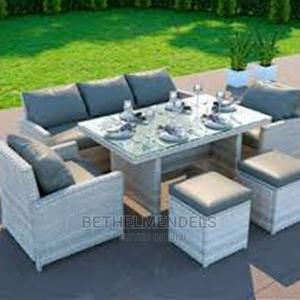 9 Set of Outdoor Rattan Sofas Furniture | Furniture for sale in Lagos State, Ikeja