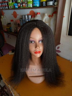 24inch Afro Kinky Straight Wigs | Hair Beauty for sale in Oyo State, Ibadan